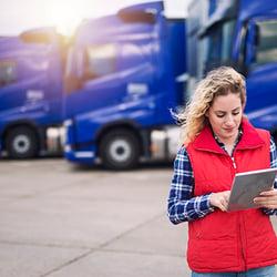 Truckload spot rates
